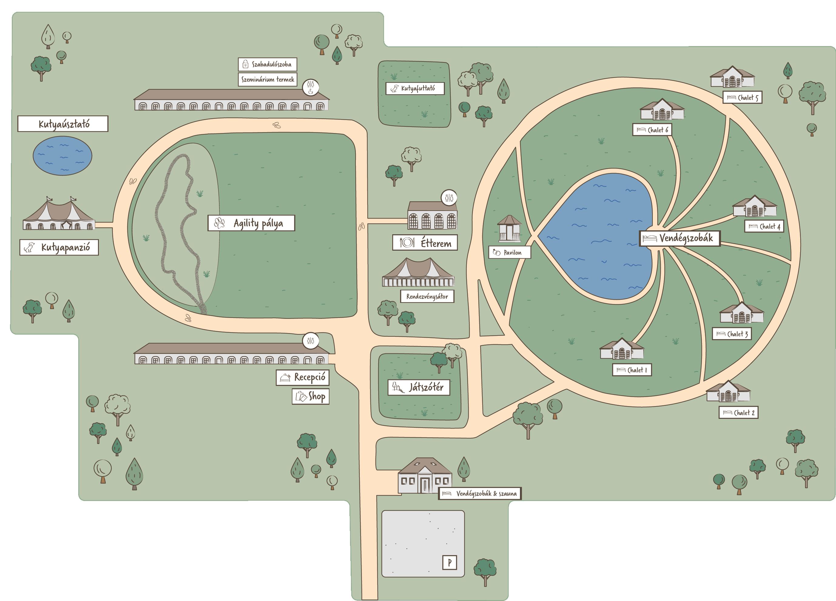 Lageplan Pro-Village